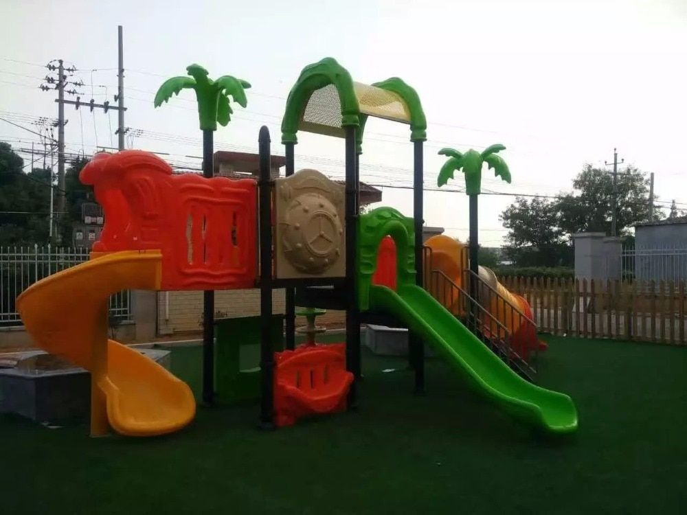 Nontoxic Material School Playground Galvanized Steel Children Outdoor Play Structurer Direct Factory HZ16-152A