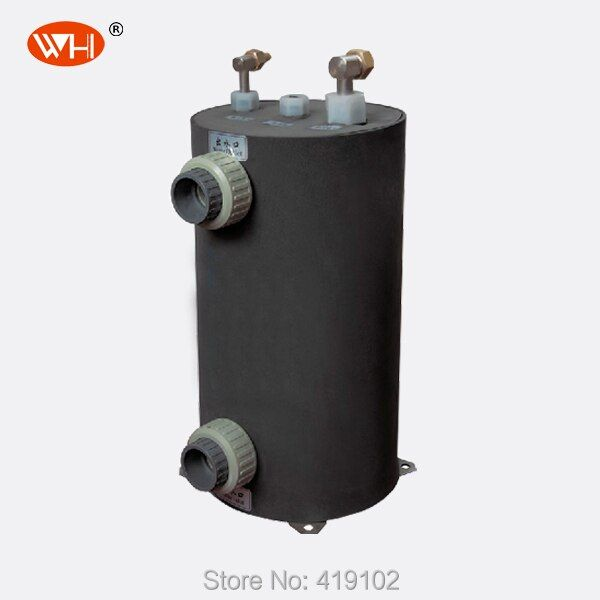 Swimming Pool Heat Pump Heat Exchanger With Titanium Tube WHC-5.0DRL Without Shipping Fee