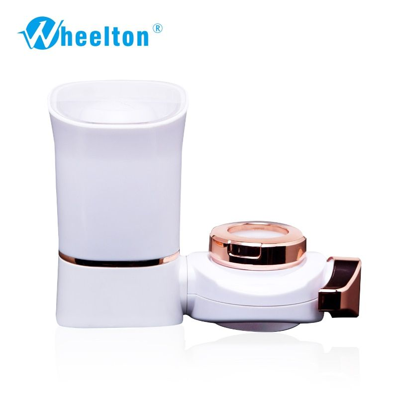 2016 new water Faucet filter water filter purifier alkaline water ionizer dechlorination 7 layers ABS shell white color filters
