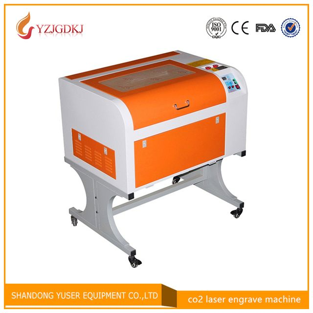 Free shipping 4060 80w  CO2 laser engraving machine  Plywood/Acrylic/Wood    laser engraving machine 80w laser cutting machine