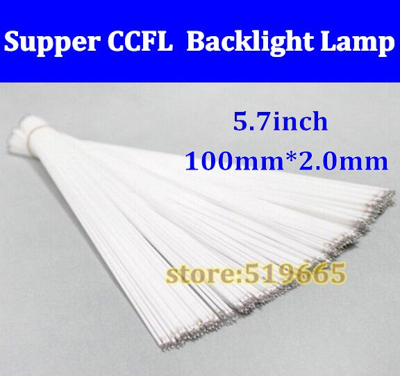 20pcs New Super light 100 mm*2.0mm 5.7''lcd screen ccfl backlight lamp 100mm Backlight tube for 5.7 inch laptop/notebook monitor