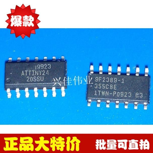 Free shipping 5pcs/lot Embedded - Microcontrollers ATTINY24-20SSU ATTINY24 SOP14 new original