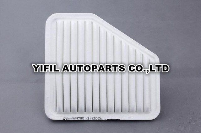 5pcs/lot Air Filter 17801-31120 For TOYOTA AVENSIS CAMRY PREVIA RAV4 ALPHARD VENZA For Scion xB tC For LEXUS ES240/350