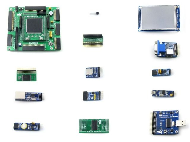 Module Openep3c16-c Package A # Ep3c16 Ep3c16q240c8n Altera Cyclone Iii Fpga Development Board + 13 Accessory Modules Kits