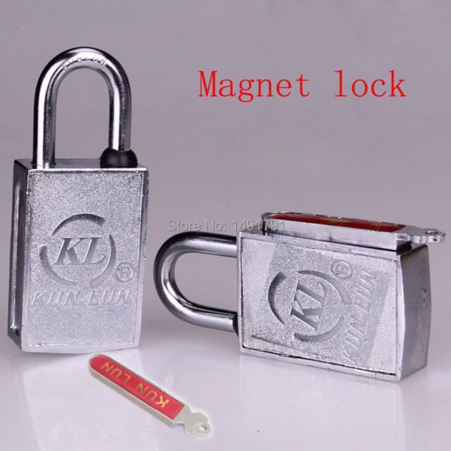 Magnet lock prop for escape room new magnetic key lock Real life escape mysterious room game prop combination lock