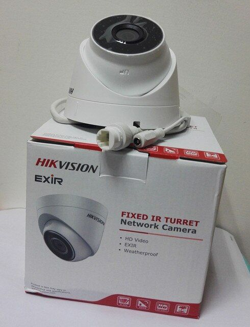 HIKvision Original English Version 4MP HD Video DS-2CD1341-I IP Camera Replace DS-2CD2345-I  CCTV Camera System