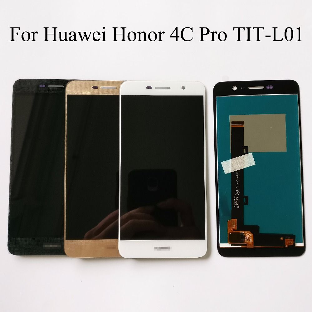 100% Tested NEW High Quality 5.0 inch For huawei honor 4c pro TIT-L01 LCD Display + Touch Screen Digitizer Assembly Replacement