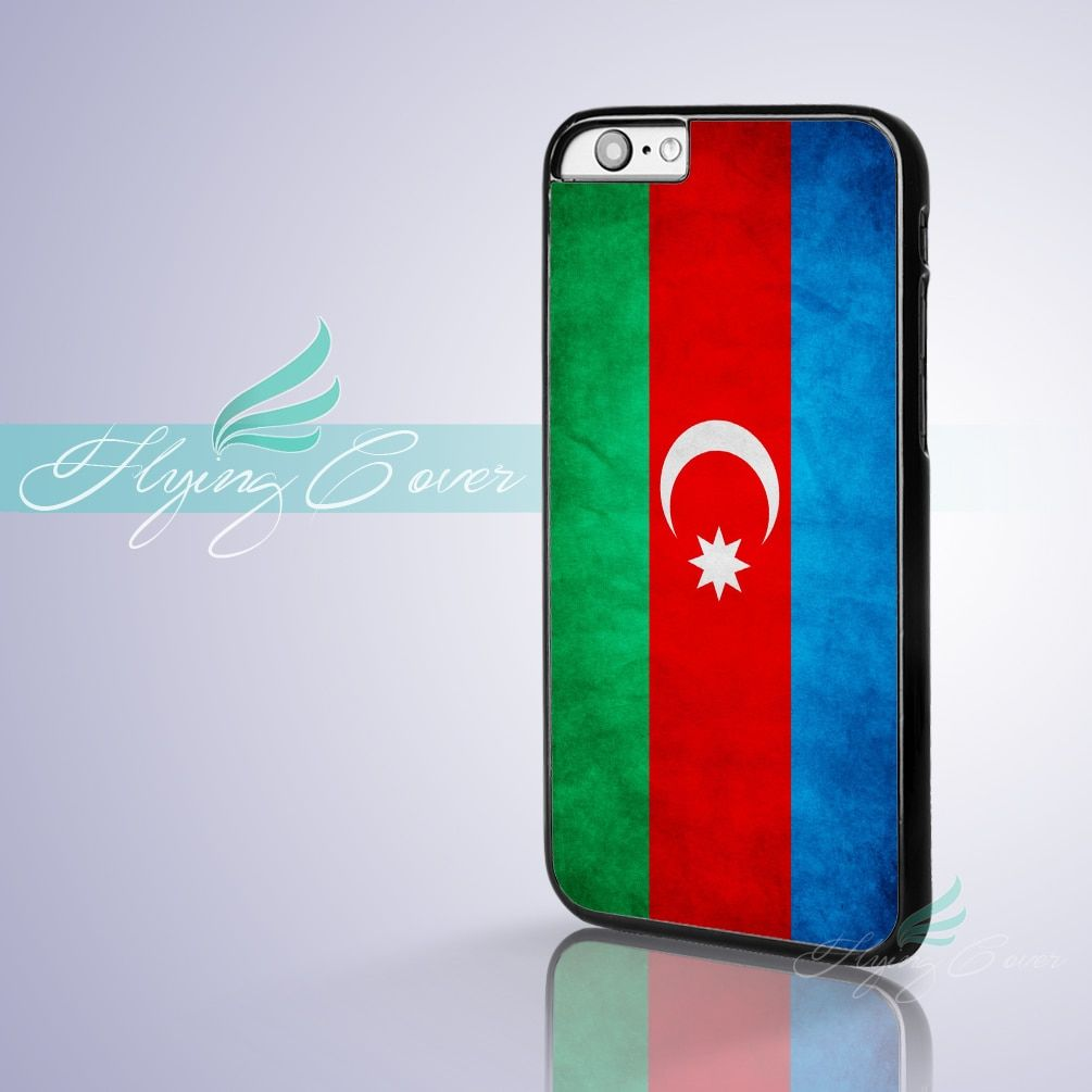Coque Azerbaijan Flag Design Capa Phone Cases for iPhone 7 6S 6 5S SE 5C 5 4S 4 7 Plus Case for iPod Touch 6 iPod Touch 5 Cover.