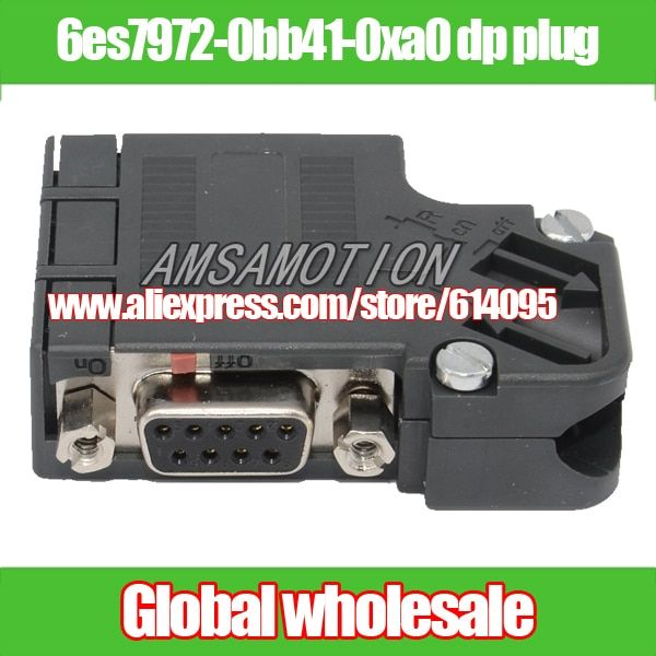 1pcs dp plug 6es7972-0bb41-0xa0 / profibus bus connector for Siemens Electronic Data Systems