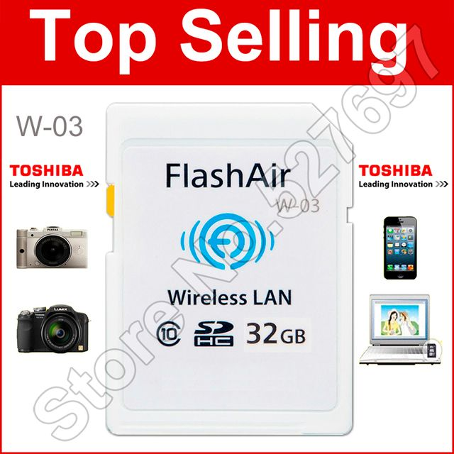 WIFI download photo video to phone etc !!!  WI-FI Memory Card 8G 16GB 32GB WIFI SD Card FlashAir Class 10 SDHC Flash Memory Card