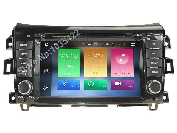 Android 8.0 CAR Audio DVD player FOR NISSAN NAVARA gps Multimedia head device unit receiver BT WIFI