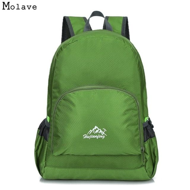 Naivety 2016 New Waterproof Bionic Foldable Backpack Portable Package Bag AUG18 drop shipping