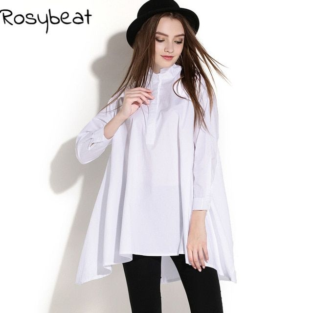 Loose Casual Women Blouses And Shirts Plus Size Womens Blusas XXL 3xl White Large Tops Clothing 2017 Fashion Ladies Clothes XL