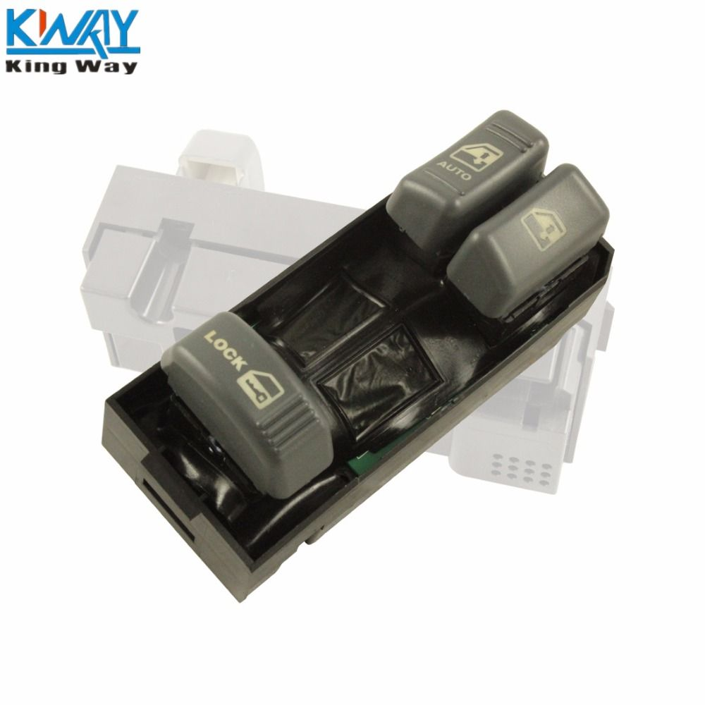 FREE SHIPPING - King Way - Power Window & Door Lock Switch Left LH Front   For GMC Chevy 1500 Pickup Truck 15151356