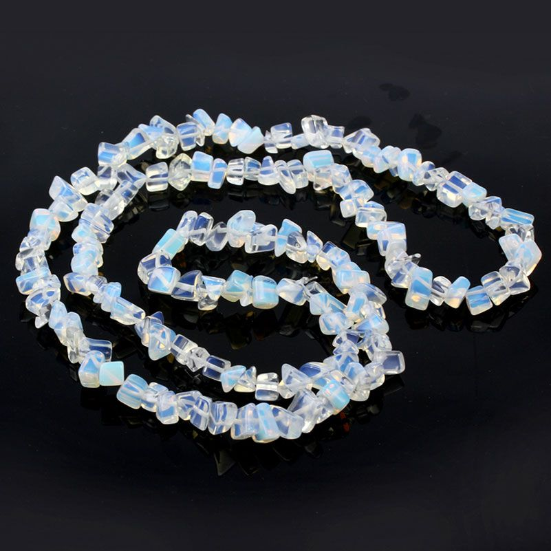 1 String Synthetic Opal Beads Crystal Stone Cabochon Bead Mix Size Shape Cuentas Y Abalorios Perlas Para Bisuteria ABS2
