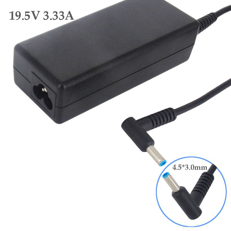 For HP Pavilion 19.5V 3.33A 65W Replacement Charger PC Laptop AC Adapter Power Supply Charging Parts 4.5x3.0mm Jack