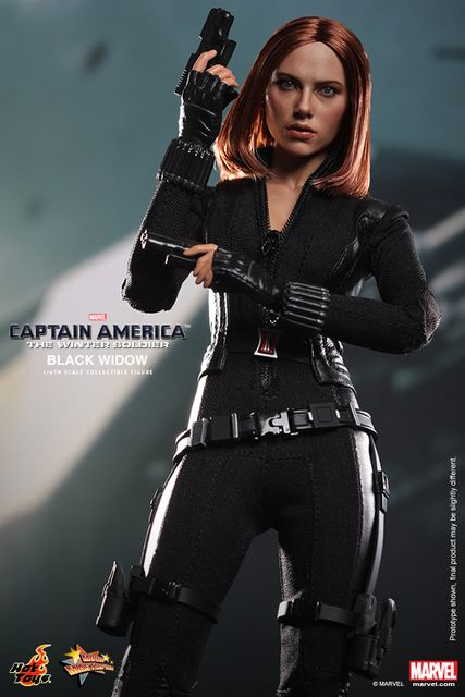 "1/6 scale figure doll Scarlett Johansson Black Widow Captain America 12"" action figure doll Collectible Figure Model Toys 3.0"