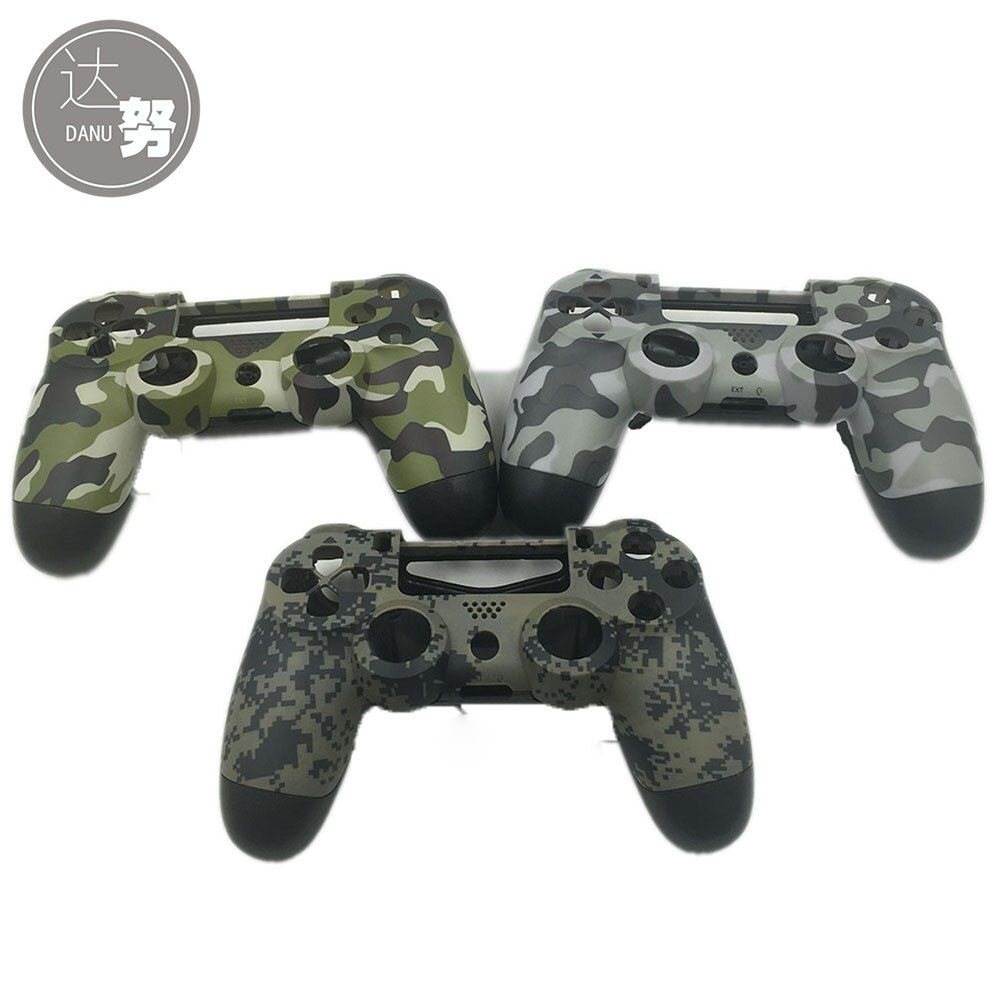 Plastic Matte Housing Shell Case for PS4 Controller For DualShock 4 Limited Verison Camouflage Housing Case Cover
