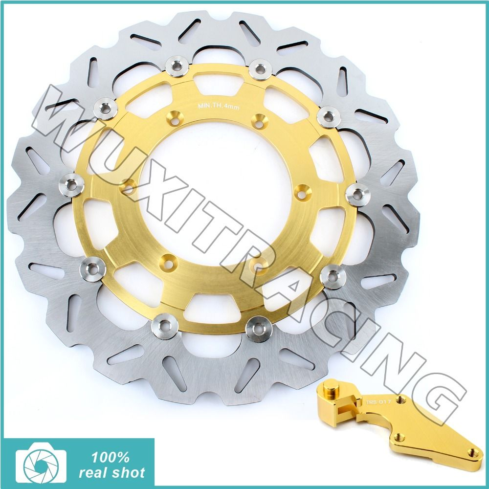 fit for Yamaha YZF 250 450 YZ250F YZ450F 07 08 09 10 11 12 13 14 15 Oversize New 320mm Front Brake Disc Rotor Bracket Adaptor