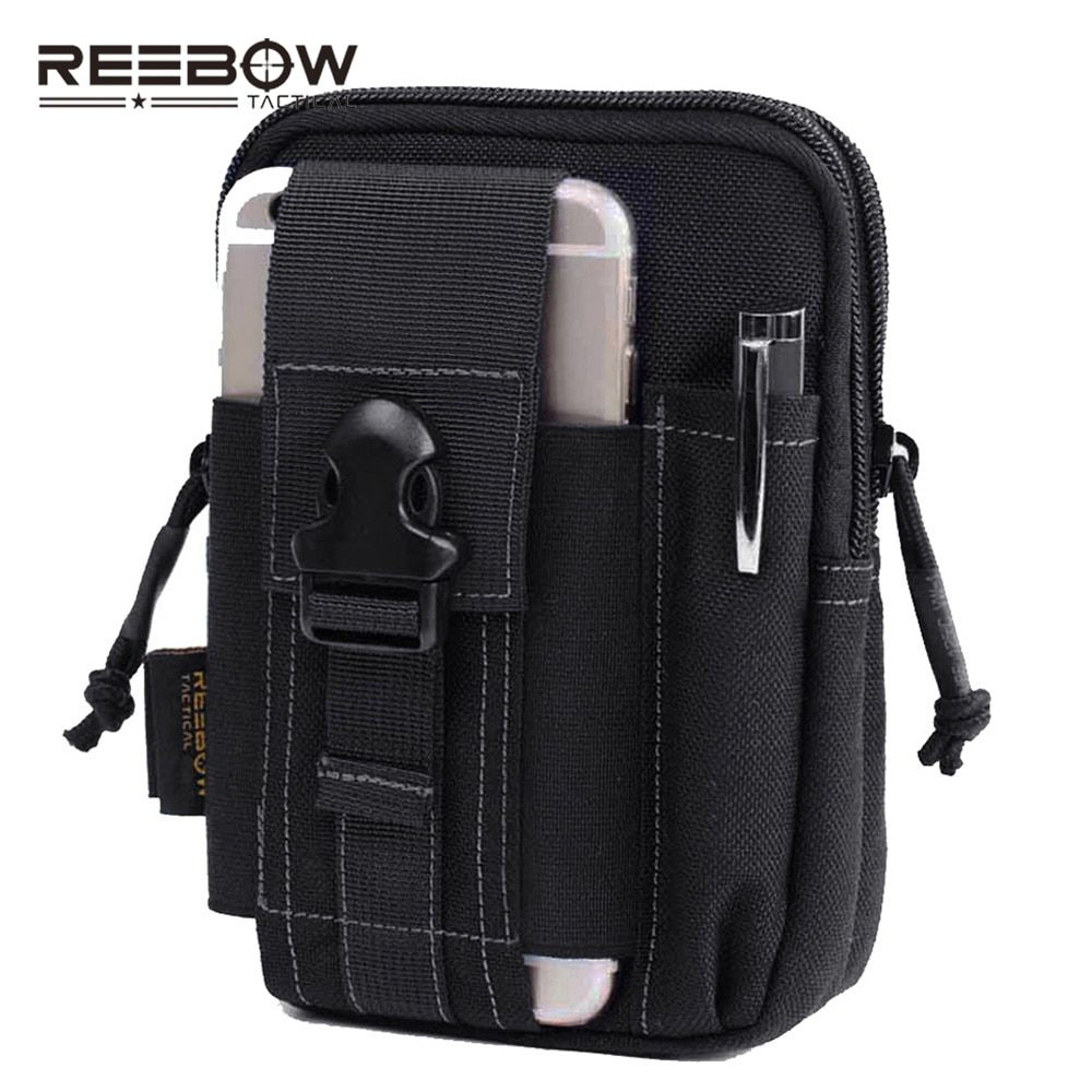 Outdoor Tactical Molle Waist Pack Bags Sport Pouch Purse Phone Case for Iphone 6 Plus SAMSUNG Note 2 3 4 CORDURA Fabric