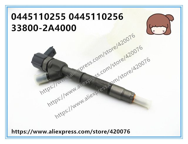 Genuine and brand new Common Rail Injector 0445110255 0445110256 3800-2A400