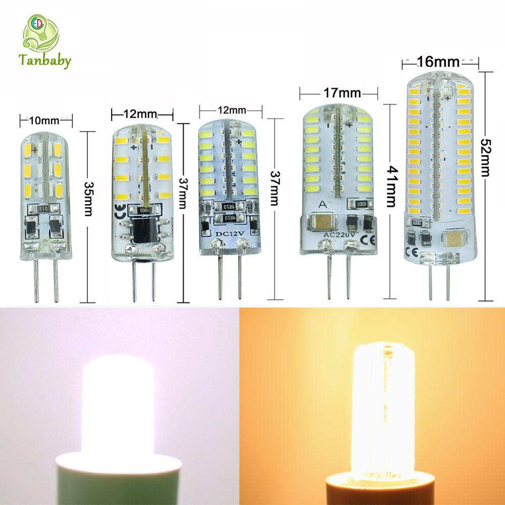 G4 led light lamp AC12V/AC220V 3W 4W 5W 6W 9W SMD 3014 led lighting SiliconeLED Bulb Chandelier lighting