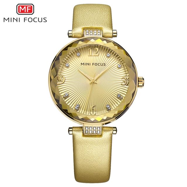 MINI FOCUS 2017 Quartz Watch Women Watches Ladies Brand Luxury Gold Wrist Watch Girls Female Clock Montre Femme Relogio Feminino