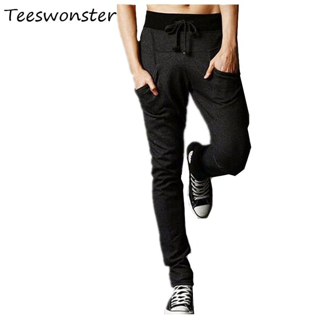 Trousers Clycling Harem Pants New Style Fashion 2017 Fashion Brand Sweat Harem Mens Casual Cool  Pants