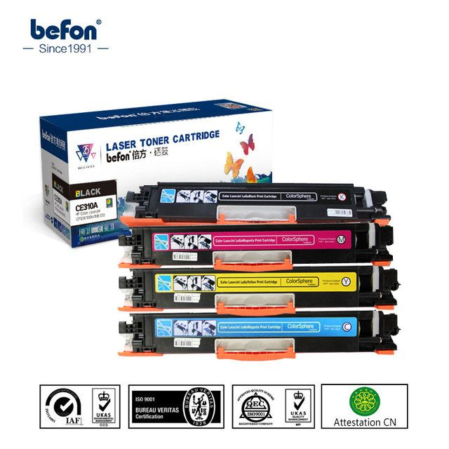Compatible HP CE310A 10A CE311A 11A CE312A 12A CE313A 13A 126A Color toner cartridge for HP CP1025 1025NW MFP M175 M275 M275NW