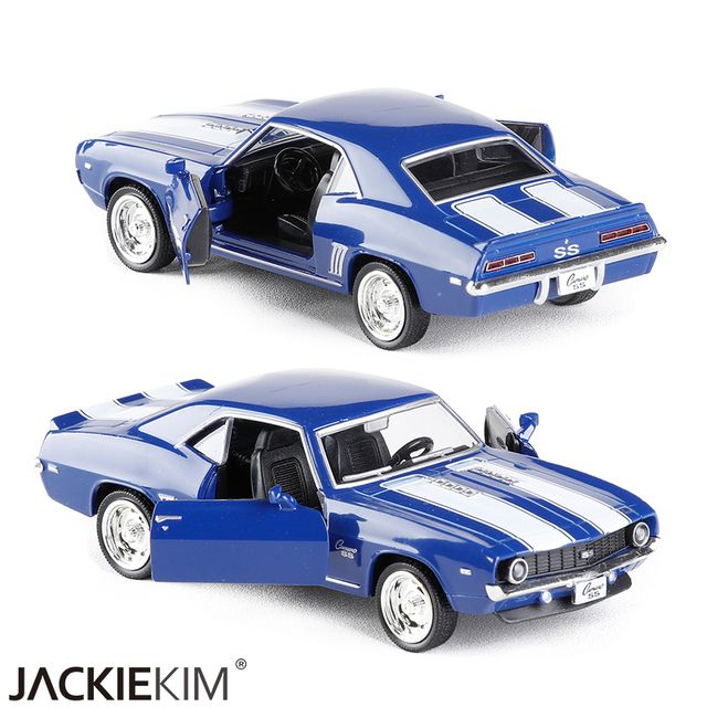 Brand New RMZ city 1/36 Scale USA 1969 Chevrolet Camaro SS Vintage Diecast Metal Car Model Toy For Collection/Gift/Kids