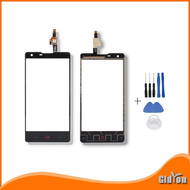 "ocolor New Touch Panel For ZTE Nubia Z5 mini Touch Screen Digitizer glass For ZTE Nubia Z5 mini NX402 4.7"" Inch"