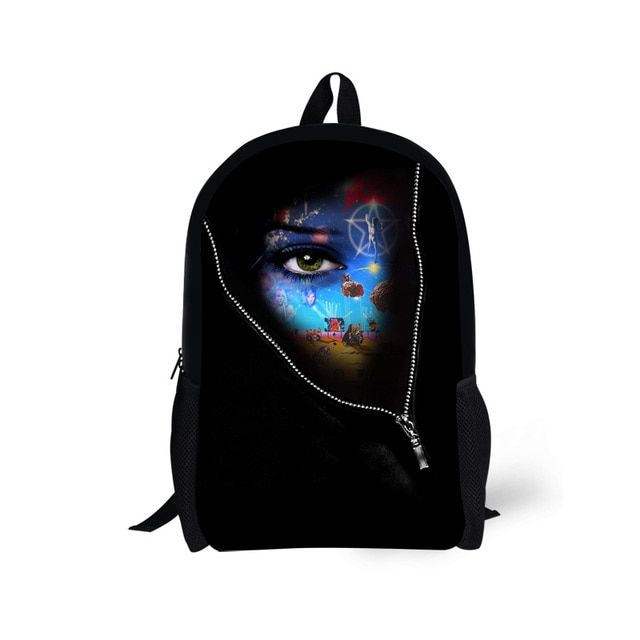 Women Printing Backpack Characters Print Children Shoulder School Backpack For Teenagers Girls Travel Bagpack Bolsas Mochilas