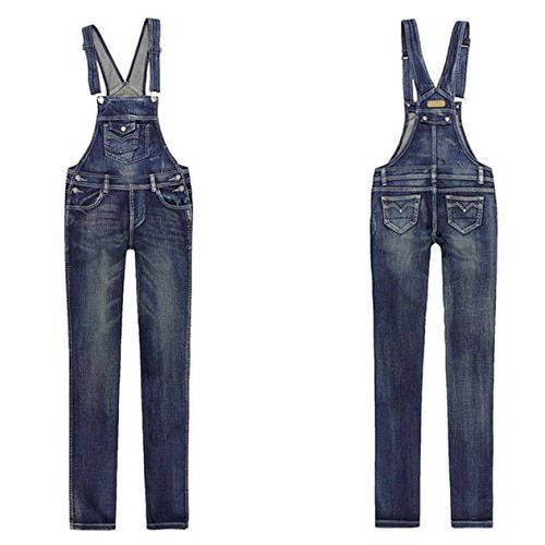 SYB 2016 NEW Women's Strap Overalls Denim Suspender Jumpsuit