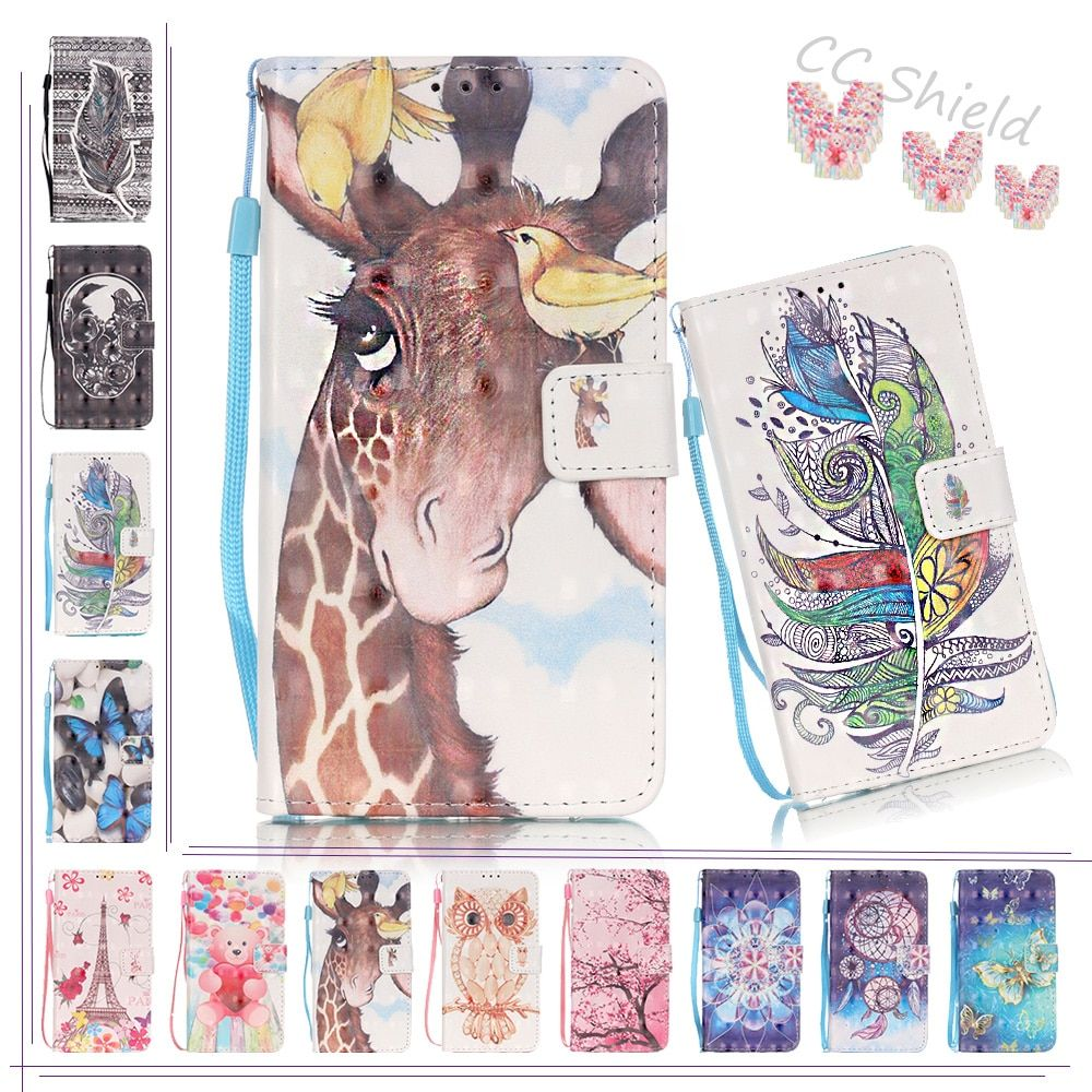 3D Painting Flip Case for Samsung Galaxy A3 2016 A 3 310 SM A310 A310F A310Y A310F/DS SM-A310 SM-A310F Case Phone Leather Cover