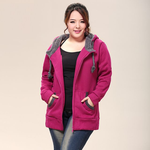 2016 new arrive plus size Women's clothing tops sweatshirts for women fur coat