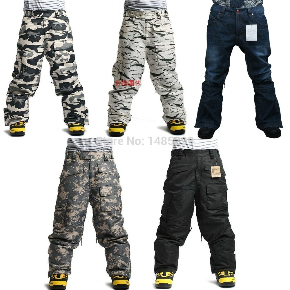 "New Edition ""Southplay"" Winter Waterproof 10,000mm Warming Military Pants"