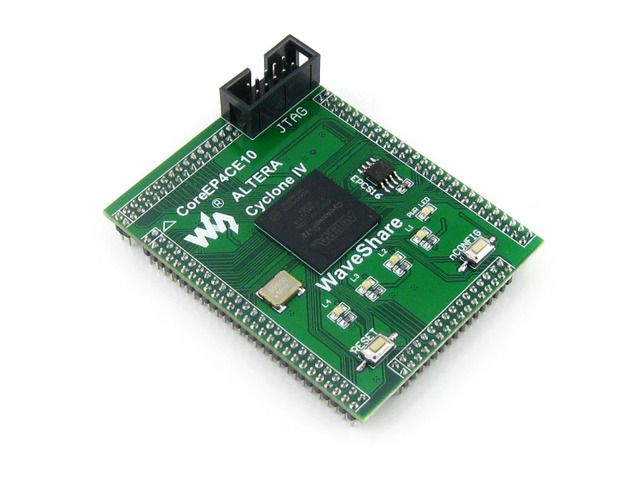 Waveshare CoreEP4CE10 EP4CE10F17C8N EP4CE10 ALTERA Cyclone IV  CPLD & FPGA Development Core Board with Full IO Expanders