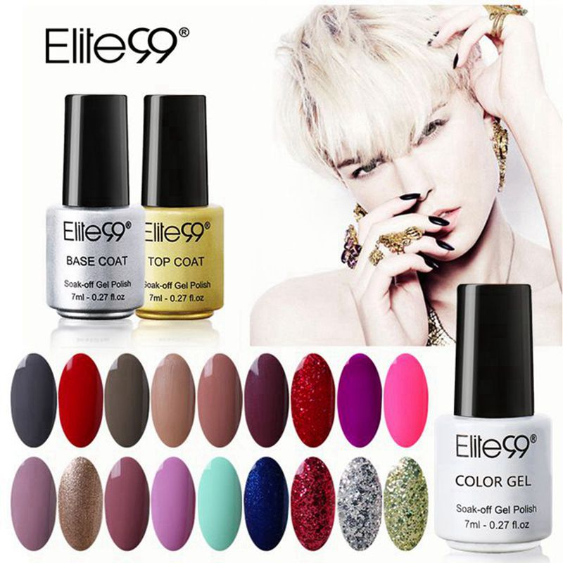 Elite99 7ml Gel Nail Polish Beautiful Color Polish DIY Nail Art Colorful Gel Polish Glaze Paint Colored Avaliable Pick 1 from 58