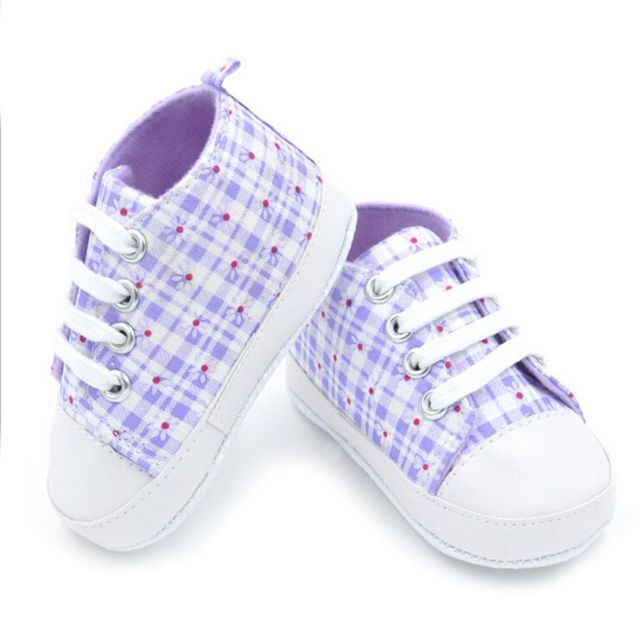 2016 New Fashion Rainbow Star Canvas Shoes 0-18M Baby Girls Boys Soft Prewalkers Casual Toddler Shoes 9 Colors