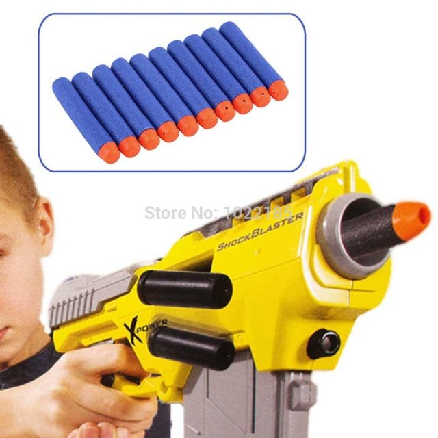 New Professional10pcs 7.2cm Darts for Nerf for N-strike Elite Series Blasters Kids Toy gun