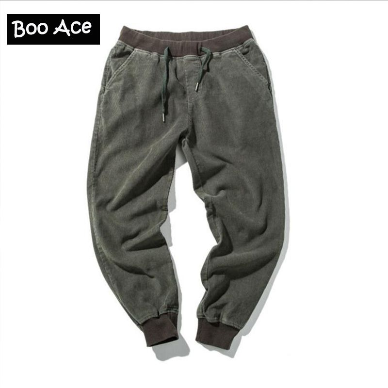 High Quality Army Green Mens Cargo Pants Sweatpants Men Original Design Boys Skateboard Jogger Pant Male Loose Trousers