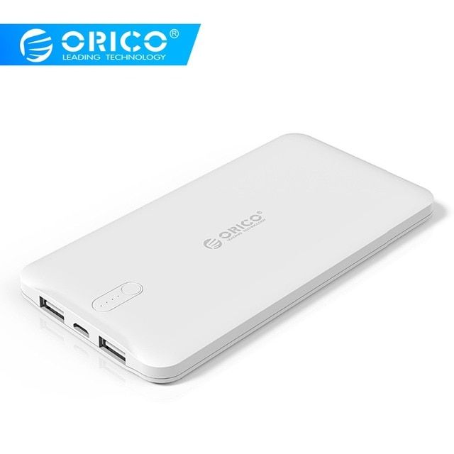 ORICO 5000mah Power Bank 5V2.4A Output External Battery Charge for Mobile Phone With LED Indicator Universal Charger