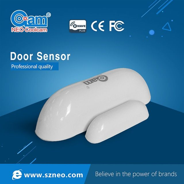Home Automation Z-wave Sensor Door/Window Sensor Compatible System with Z-wave 300 series and 500 series