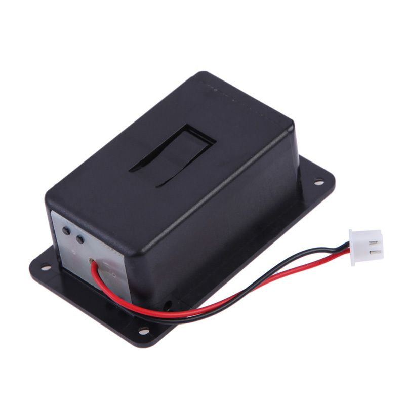 High Quality 1pc Battery Holder For Black 9V Battery Box Case Cover Holders For Guitar Bass Pickup replacement accessory