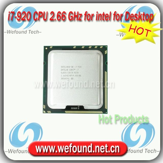 Original for Intel Core i7 920 Processor 2.66GHz /8MB Cache/Quad Core /Socket LGA 1366 / Quad Core /Desktop I7-920 CPU