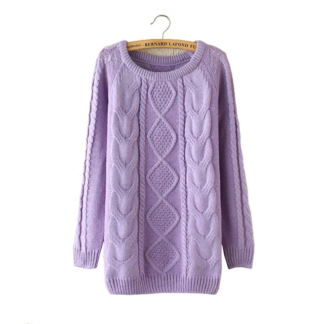 Autumn 2016 Women Knitted Sweater Korean Warm Long Sleeve Knit Sweater Pull Femme Knitwear Pullovers Blusas De Inverno Feminina