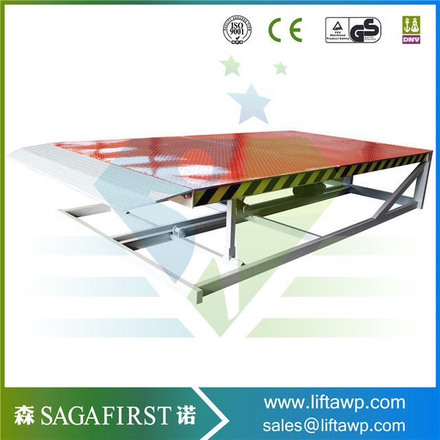 Adjustable Loading 10 ton Mobile Dock Ramp for Sale