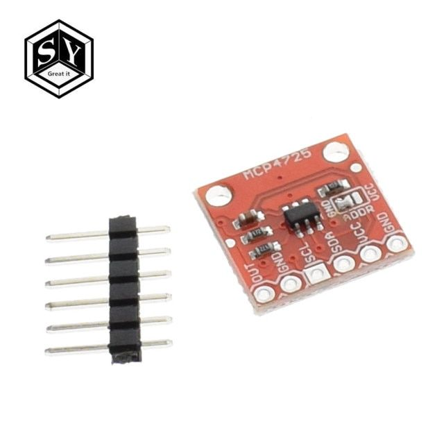 1pcs/lot MCP4725 I2C DAC Breakout module development board