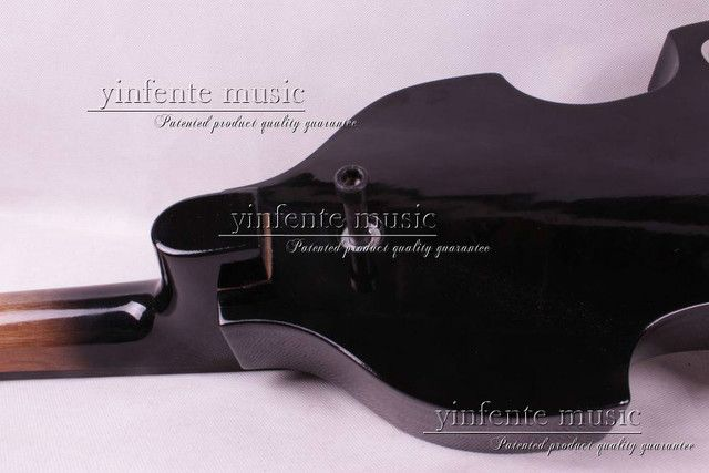 New 4/4 New Electric Cello Wonderful Tone Nice 5 string  purple