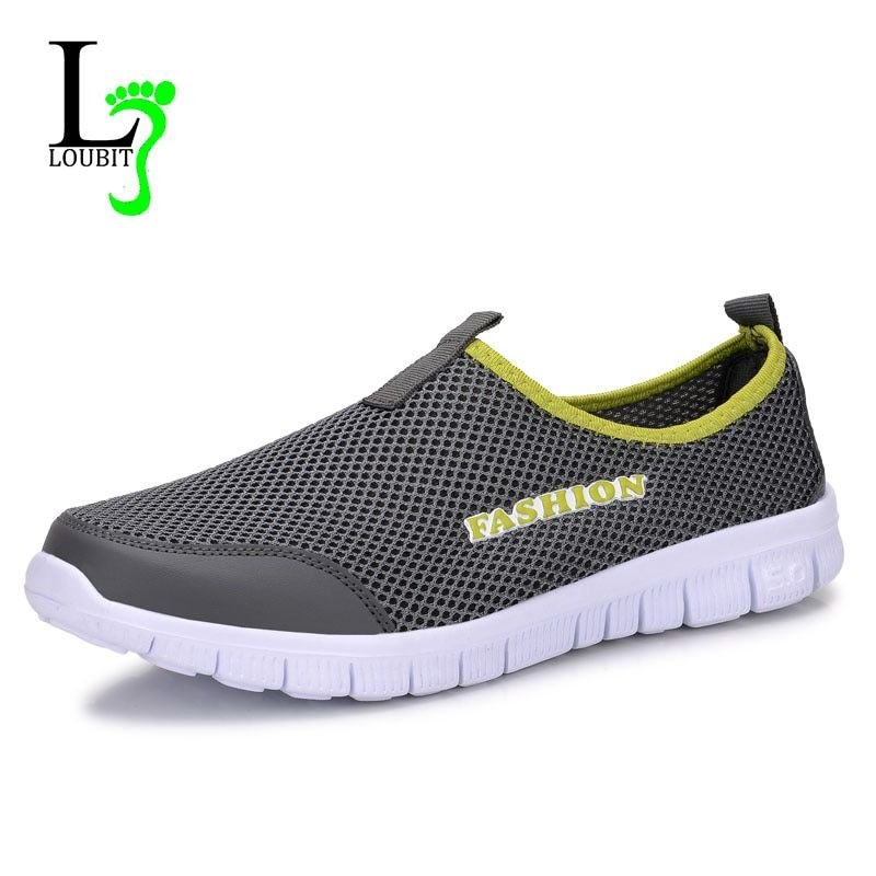 Men Shoes 2019 Summer Sneakers Comfortable Casual Shoes Mesh Breathable Sneakers For Men Footwear Plus Size 38-46